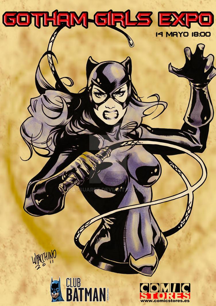 Gotham Girls Expo Club Batman by ASsuarez
