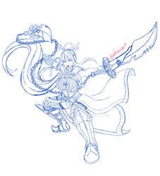 Jeanne sketch