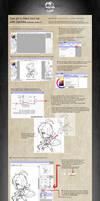 Sai Line Art Tutorial made easy 1.0 with Zjacklee by Zjacklee
