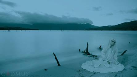 By moonlit waters