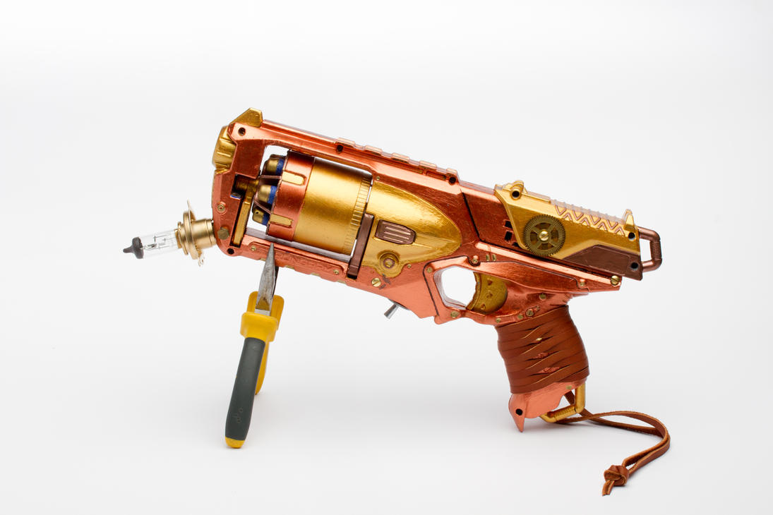 Steampunk Gun 2/4 by Nam-tar