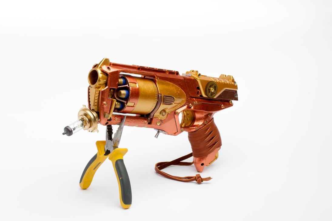 Steampunk Gun 3/4 by Nam-tar