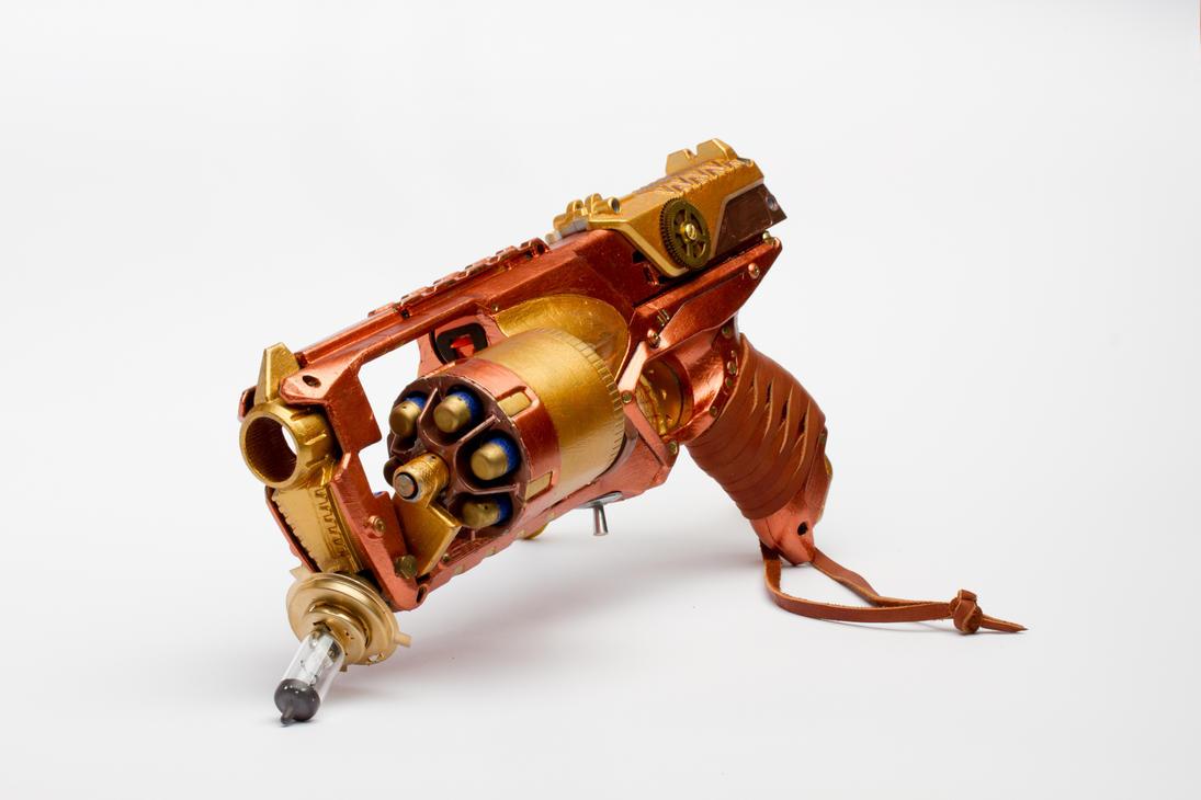 Steampunk Gun 4/4 by Nam-tar