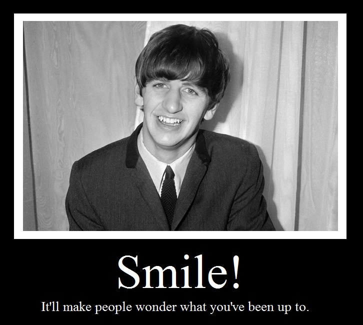 Smile Motivational featuring Ringo Starr by liammw8