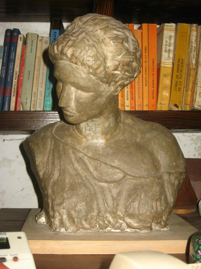 BUSTO ROMANO O GRIEGO (copia) frente by hernies