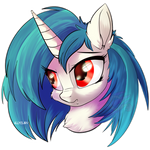 Vinyl Scratch Headshot