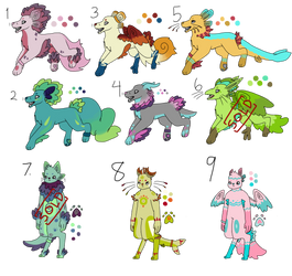 Cheap Species Adopts 10pts by HippityHippo