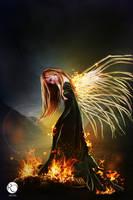 Fallen Angel by IgnisSouls