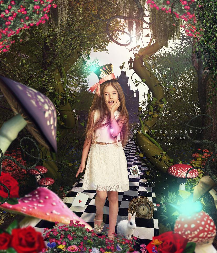 Lorena In Wonderland by IgnisSouls