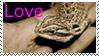 Bearded Dragon Love Stamp by CVDart1990