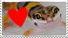 Leopard Gecko LOVE by CVDart1990
