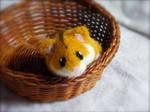 Needle Felted Custom Dwarf Hamster