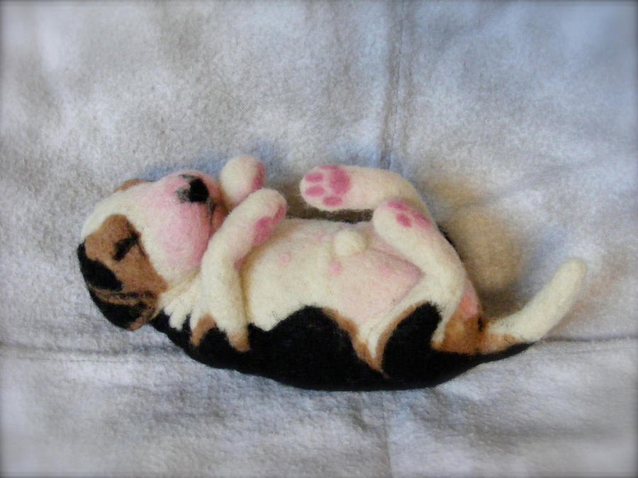 Needle Felted Custom Newborn Beagle by CVDart1990 on ...