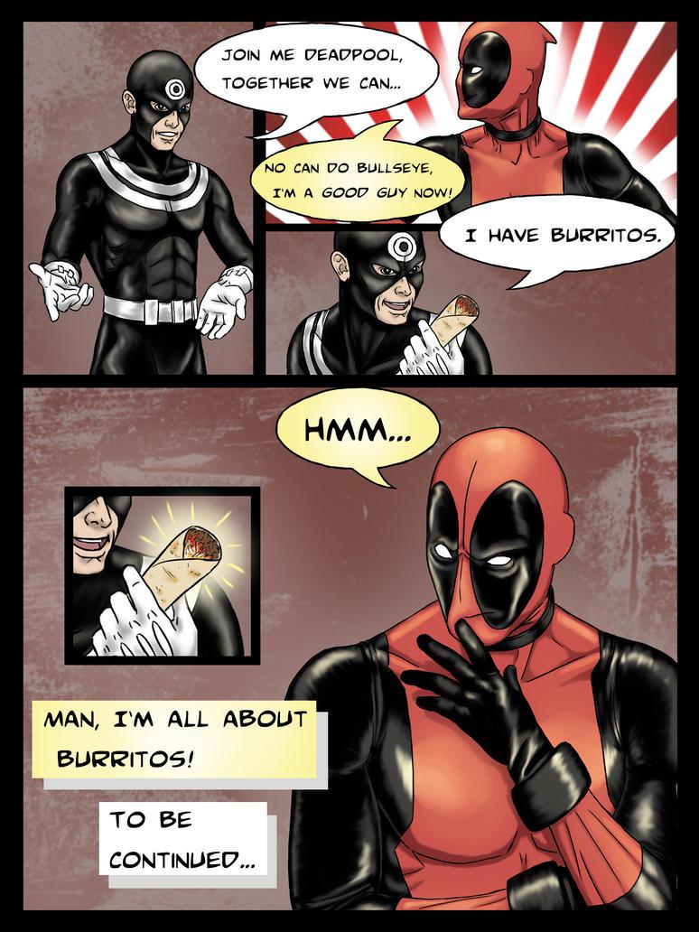 Deadpool's Temptation by CVDart1990