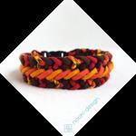 Collar/Bracelet 'Flowing Magma' by Naoki-Design