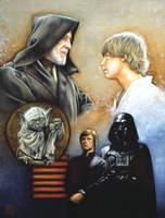 Trilogy Jedi by Draganski