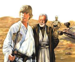Tatooine Massacre by Draganski