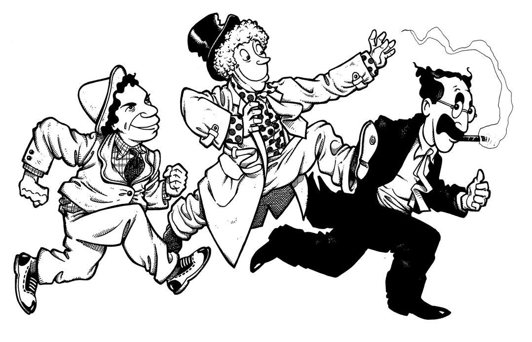 Marx Brothers Cartoon ... The Watch Jamarcus