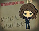 warehouse 13 myka by azmaria29