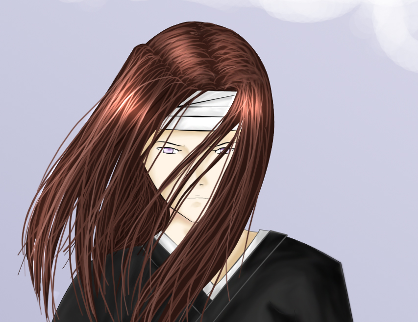 Neji dyed his hair red by artemia-the-huntress