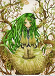 _. Emerald ._ by Daevaluque