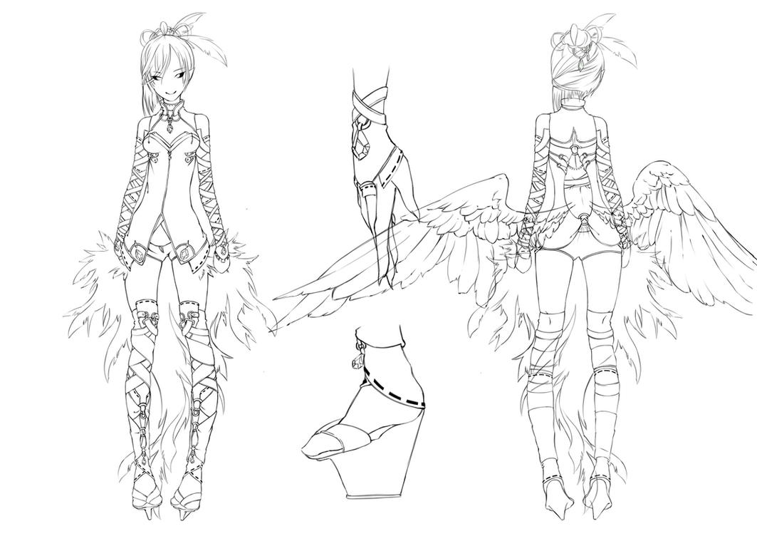 Motacilla redesign ref . by Daevaluque