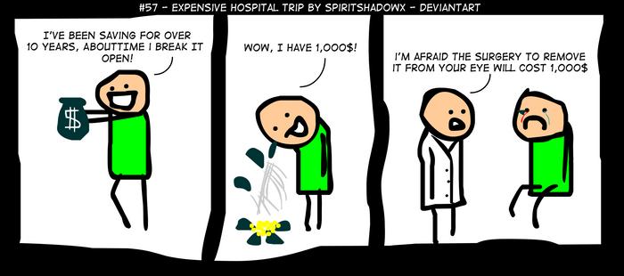 #57 - Expensive Hospital Trip