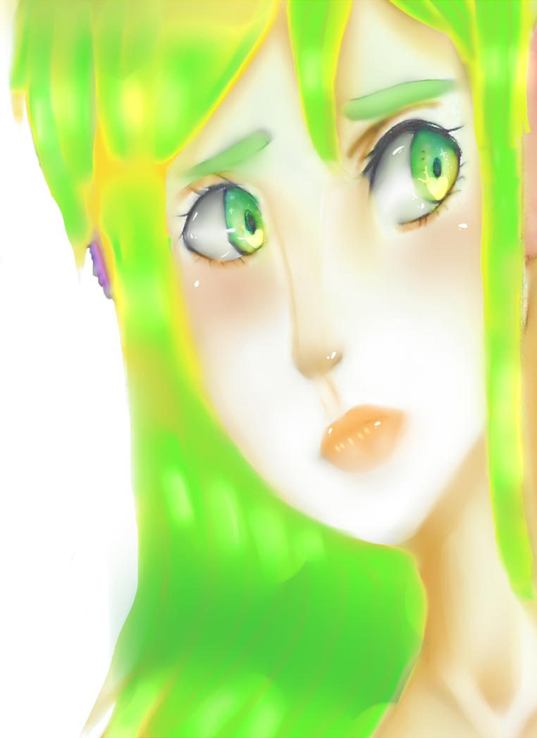 green look by SuzumeNeko3