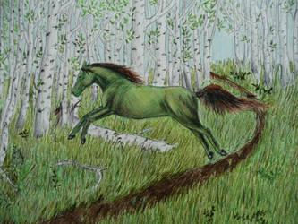 Forest Spirit by GreyCorbie