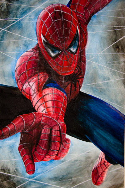 Spin that web, Spidey by AllieRaines