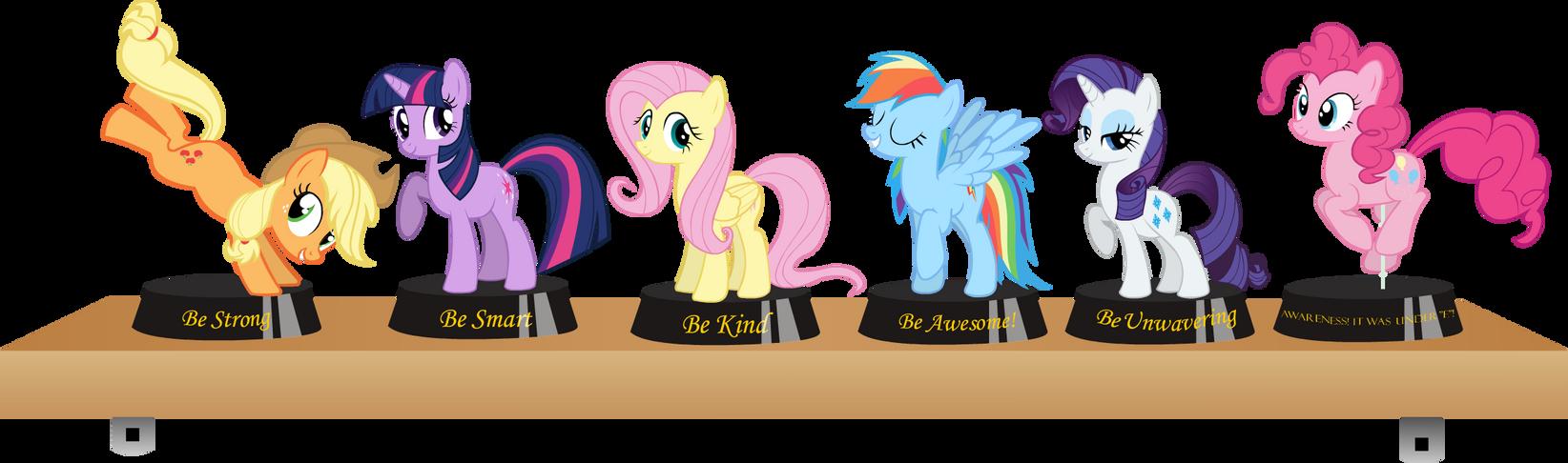 Fallout Equestria Statuettes