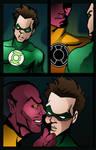 my Green Lantern toon