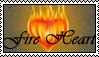 FireHeart-stamp by KinglyMS