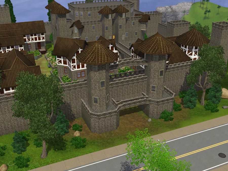 sims 2 japanese fortress - photo #27