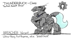 BREACHER Variant - Thunderbuck Armor