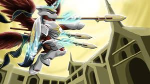 Alicorn Knight-Ascendant by DoomSp0rk