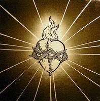 sacred heart by SamRulz