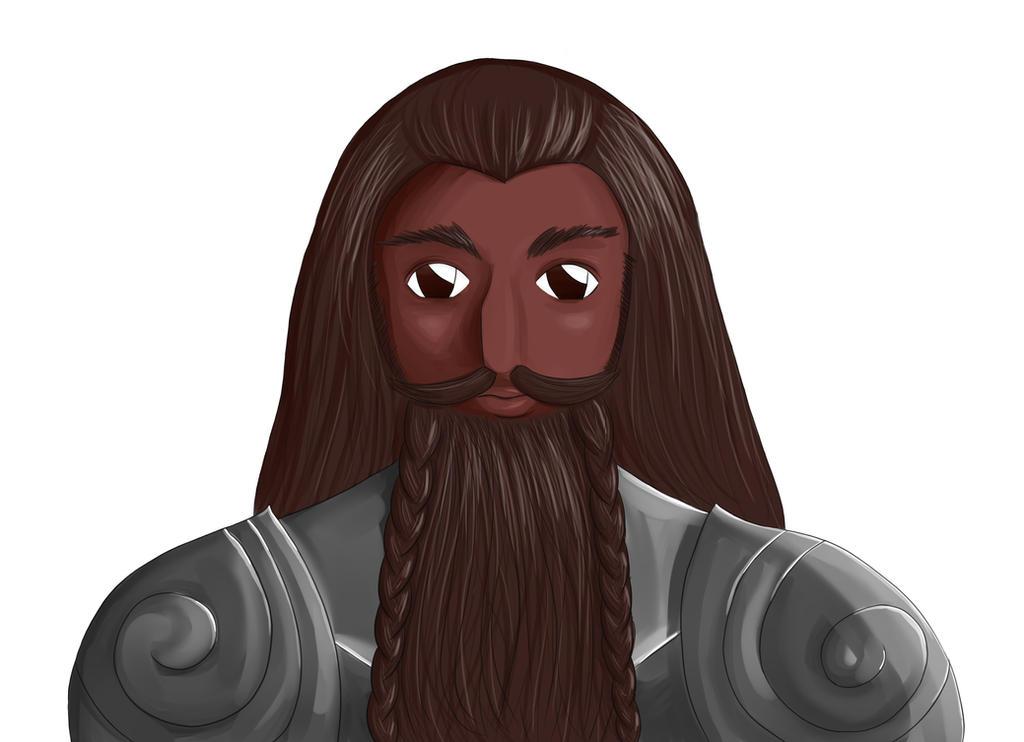DnD Dwarf Man by waititgetsbetter