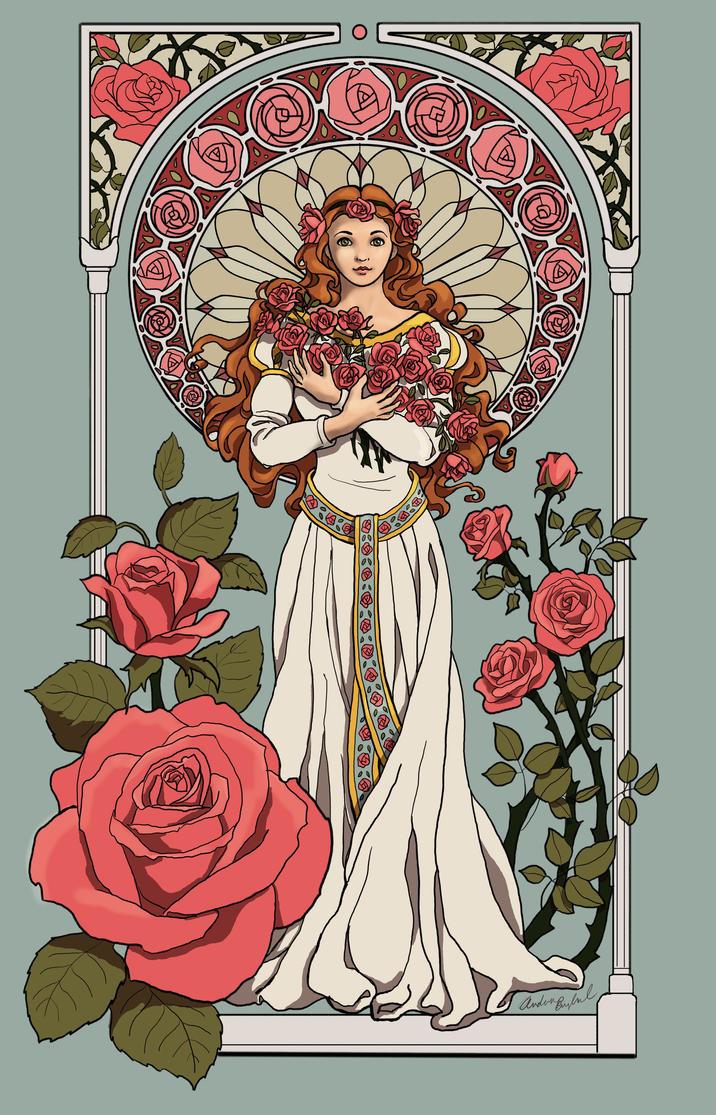 Rose Princess by GloriaDei