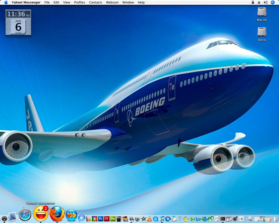 Airplane Desktop by supelpikli