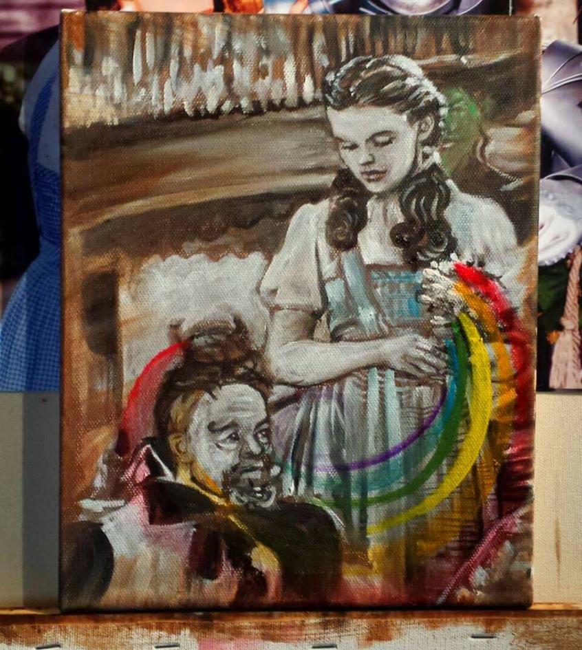 Rainbow of oz  by VincentMyrandArt