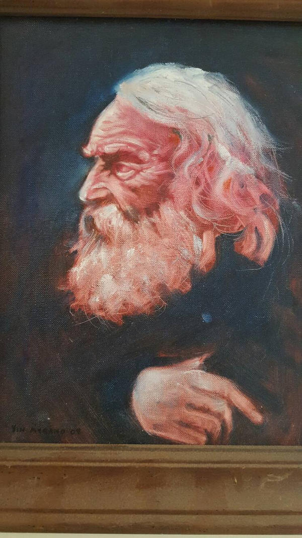 Henry Wadsworth Longfellow  by VincentMyrandArt