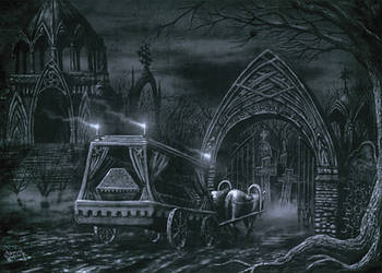 The Funeral in Silence by Xeeming