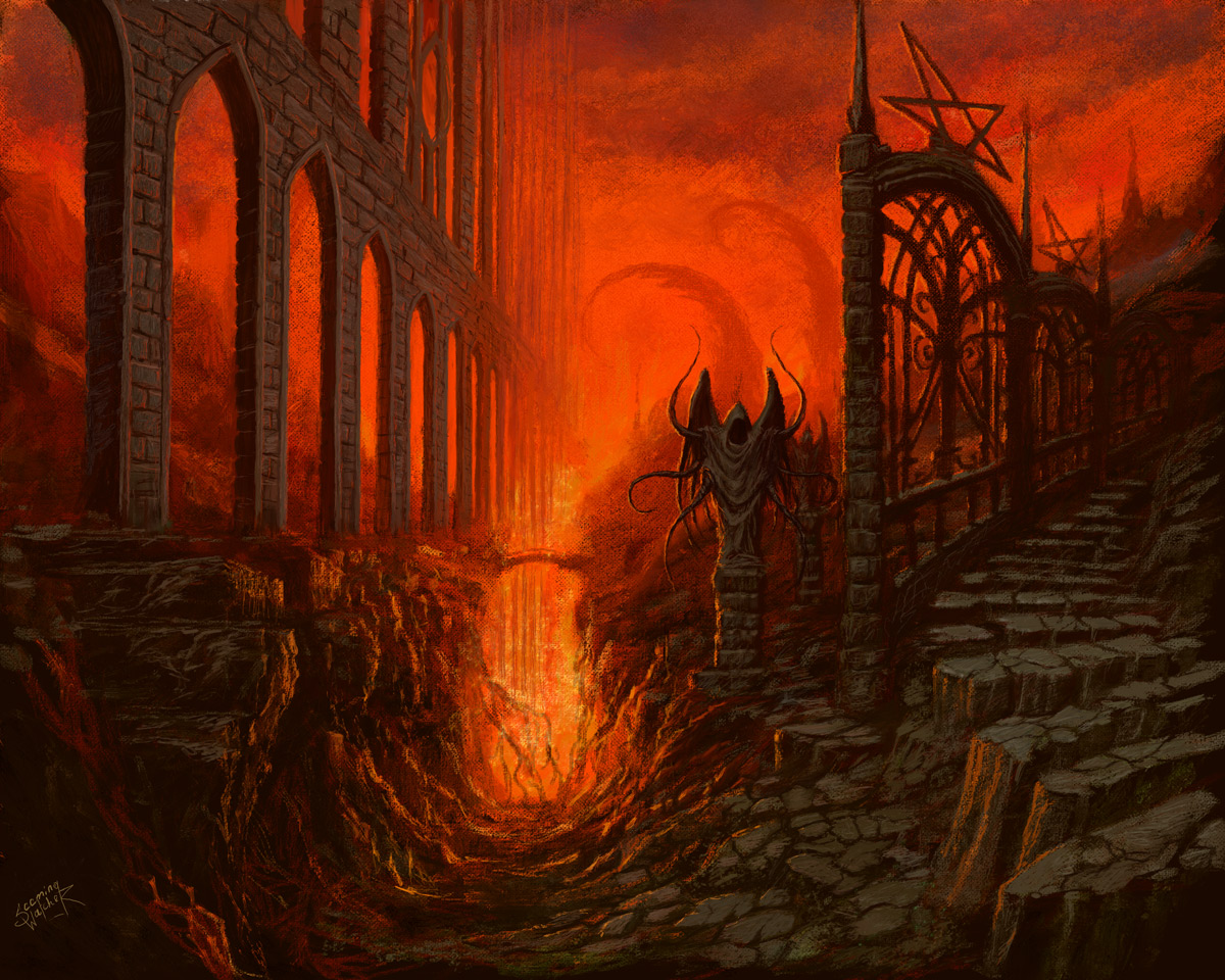 The Gates Of Uncertainty By Xeeming On Deviantart