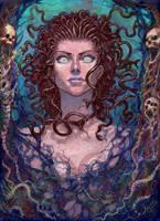 Gorgona Medusa by Xeeming