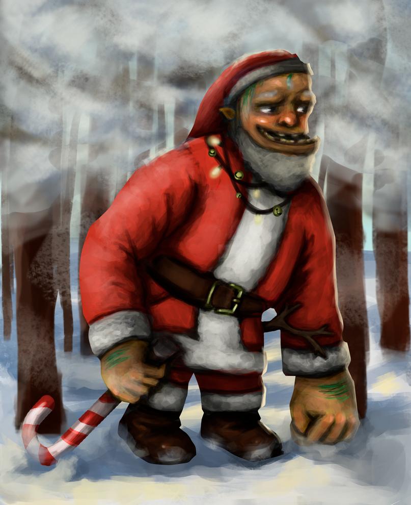 Santa troll by sophie-sz