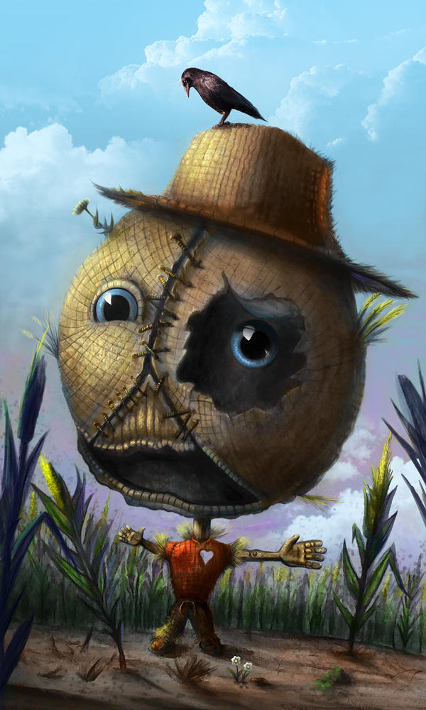 Not-so-scarecrow by Kimoss