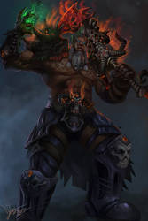 Mag'har Orc Deathknight