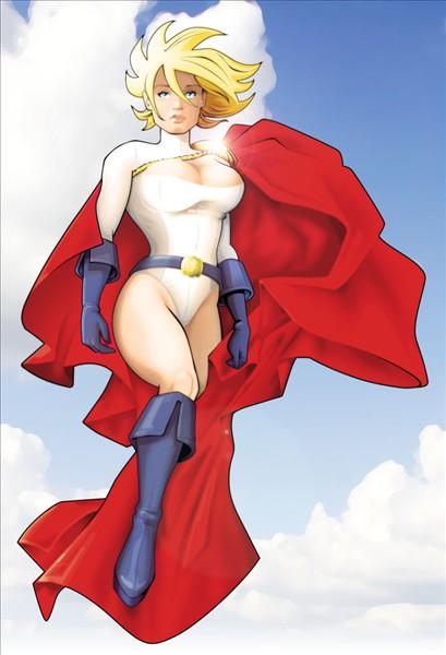 Power Girl by nannel