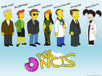 Simpsons NCIS wallpaper